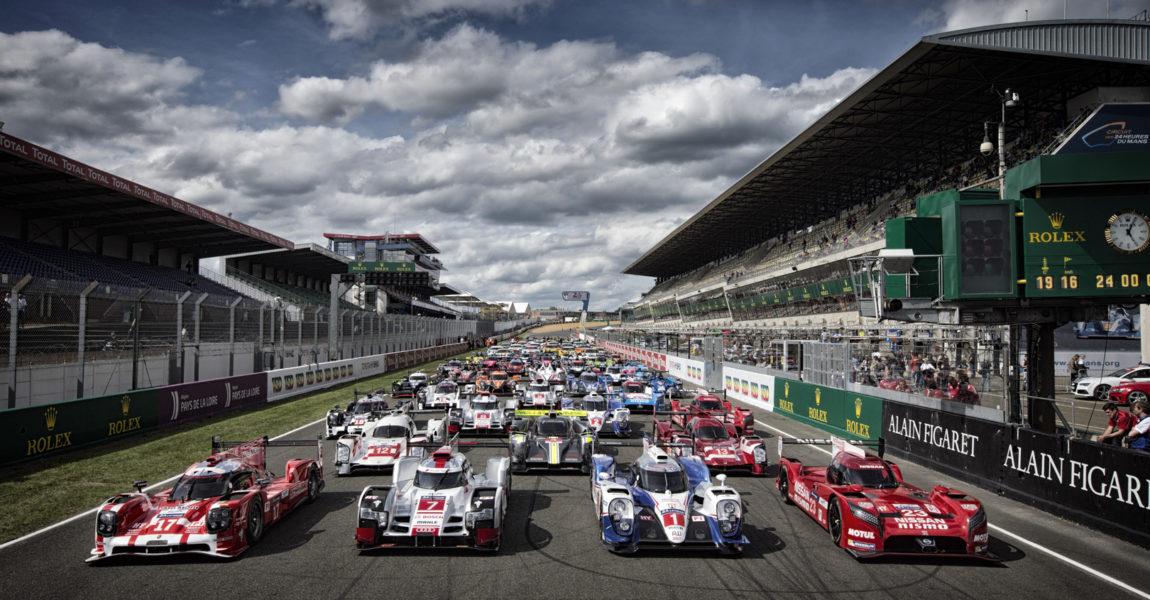 Participation VIP pour la course prototype des 24h du Mans