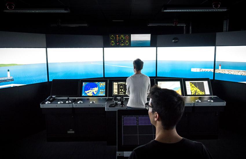 Simulateur de navigation, ENSM de Marseille