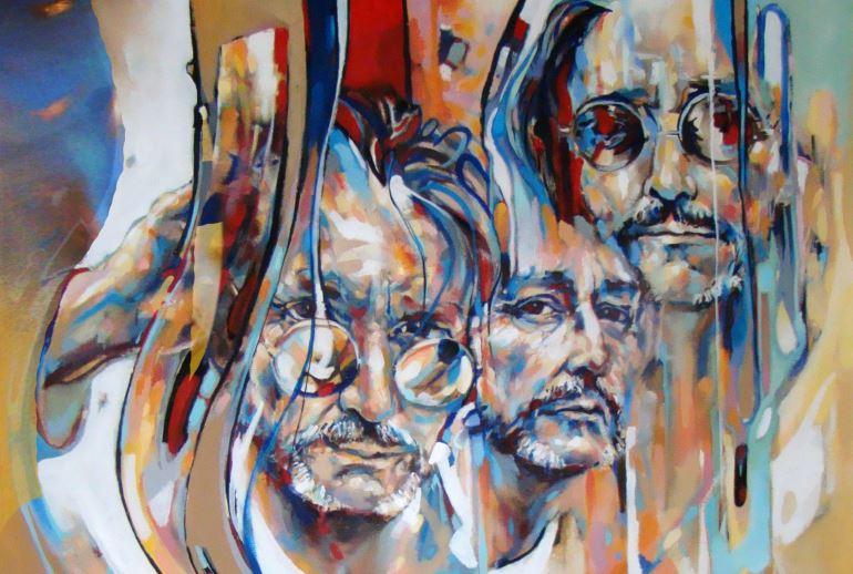 Votre portrait avec l'artiste peintre Benoit Lemoine