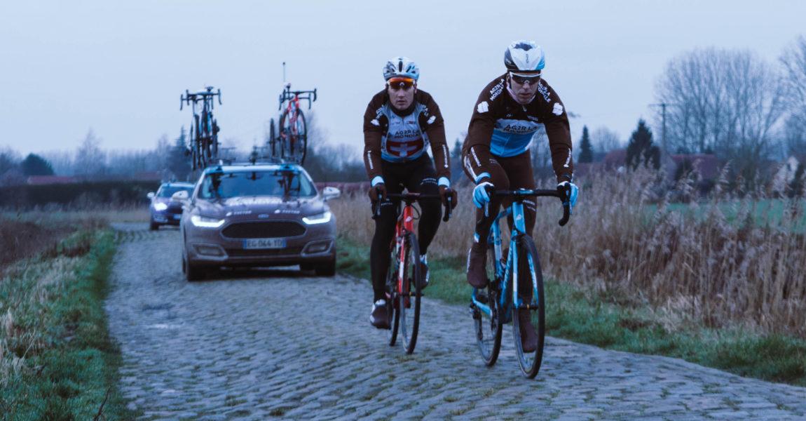 Un week-end au cœur de la course Paris-Roubaix 2019 avec l'équipe cycliste AG2R LA MONDIALE