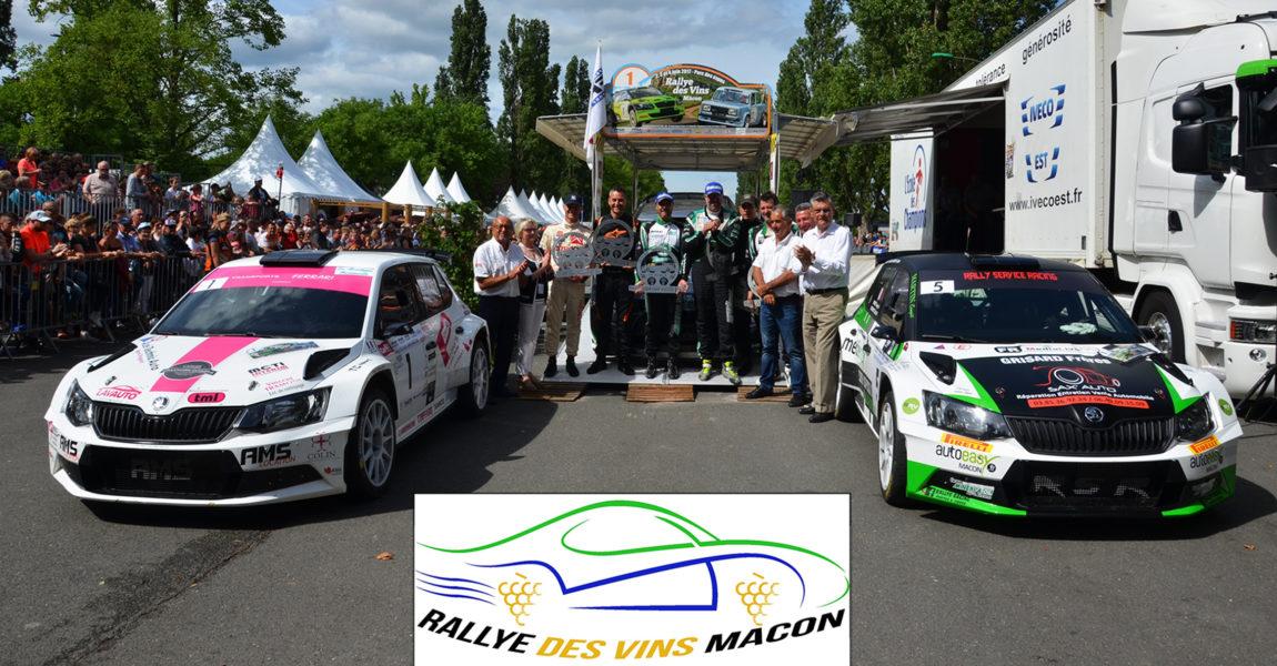 Participation au Rallye des Vins Mâcon les 5 et 6 Juin 2021 à bord d'une VOITURE PROMO