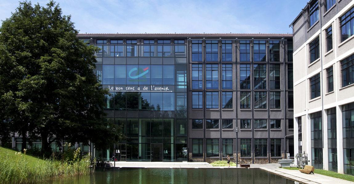 """Visite du siège """"le Campus"""" du Crédit Agricole à Paris"""